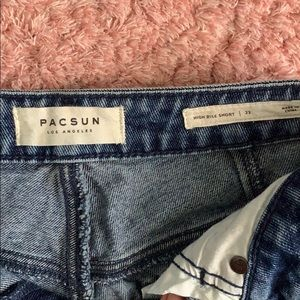 PacSun Shorts - Pacsun High Rise Jean Shorts